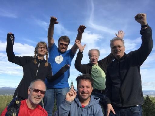 Gjengen er i gang med forberedelser til Toppdag på Bjønnåsen